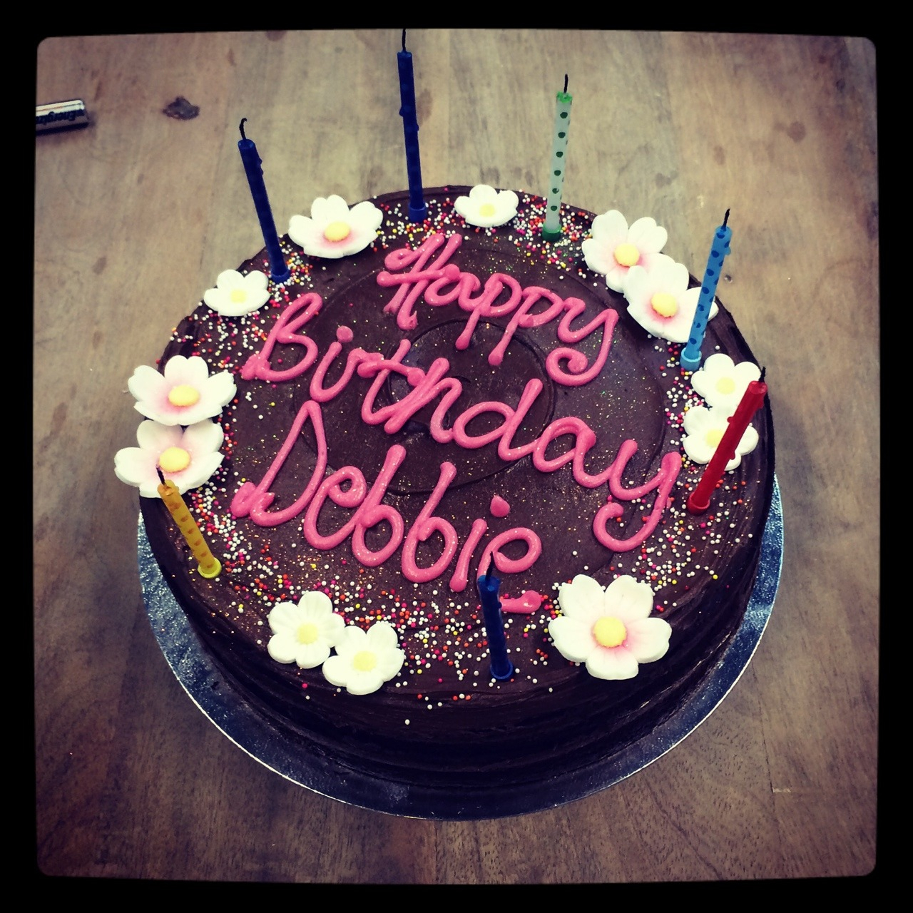 Happy Birthday Debbie Cake Real Humans Of Swoon Editions Happy Birthday Debbie