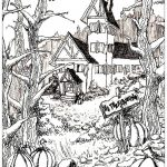 Haunted House Coloring Pages Coloring Pages Coloring Pages Astonishing Haunted House Book To