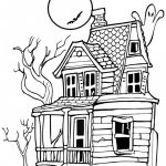 Haunted House Coloring Pages Cooloring Book 43 Incredible Haunted House Coloring Pages Scary