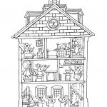 Haunted House Coloring Pages Haunted House Coloring Pages Google Search Book For Color Page