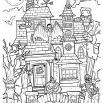 Haunted House Coloring Pages Haunted Mansion Coloring Pages Futurama