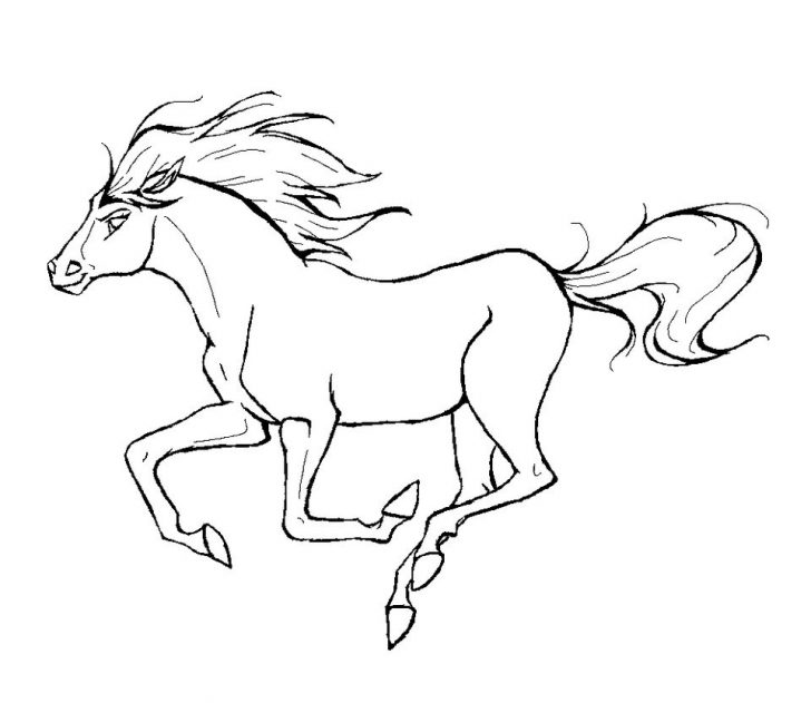 Horse Coloring Page Coloring Pages Fabulousntable Horse Coloring Pages Picture