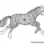 Horse Coloring Page Horse Coloring Pages And Printables