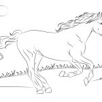 Horse Coloring Page Horses Coloring Pages Free Coloring Pages