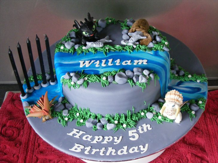 How To Train Your Dragon Birthday Cake How To Train Your Dragon Birthday Cake Diy Crafts In 2018