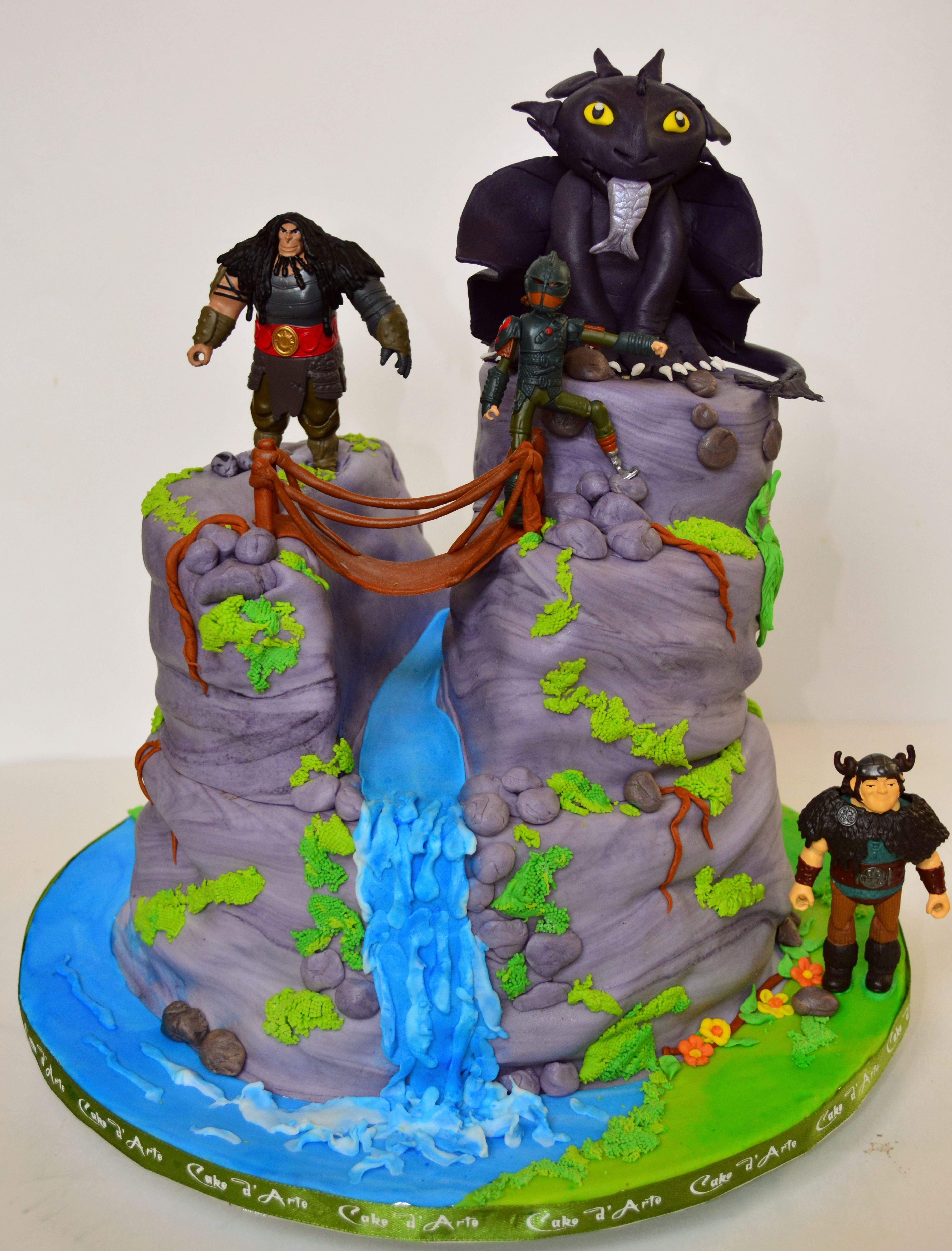 21+ Awesome Picture of How To Train Your Dragon Birthday Cake