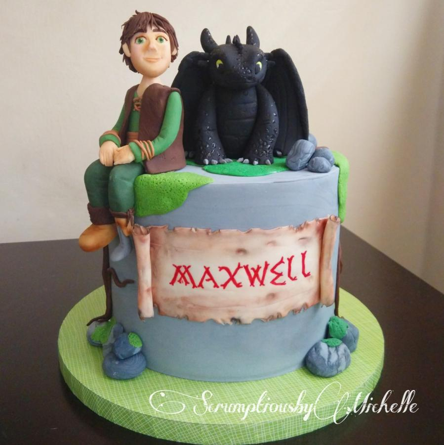 How To Train Your Dragon Birthday Cake How To Train Your Dragon Cake 142 Cakes Cakesdecor