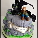 How To Train Your Dragon Birthday Cake How To Train Your Dragon Cake For My Son Eliots 8th Birthday