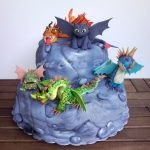 How To Train Your Dragon Birthday Cake Pin Zvjezda On All About Sugar Art Pinterest How