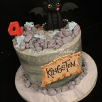 How To Train Your Dragon Birthday Cake Sugar Coated Bakery Lowell Baking Everyday Better