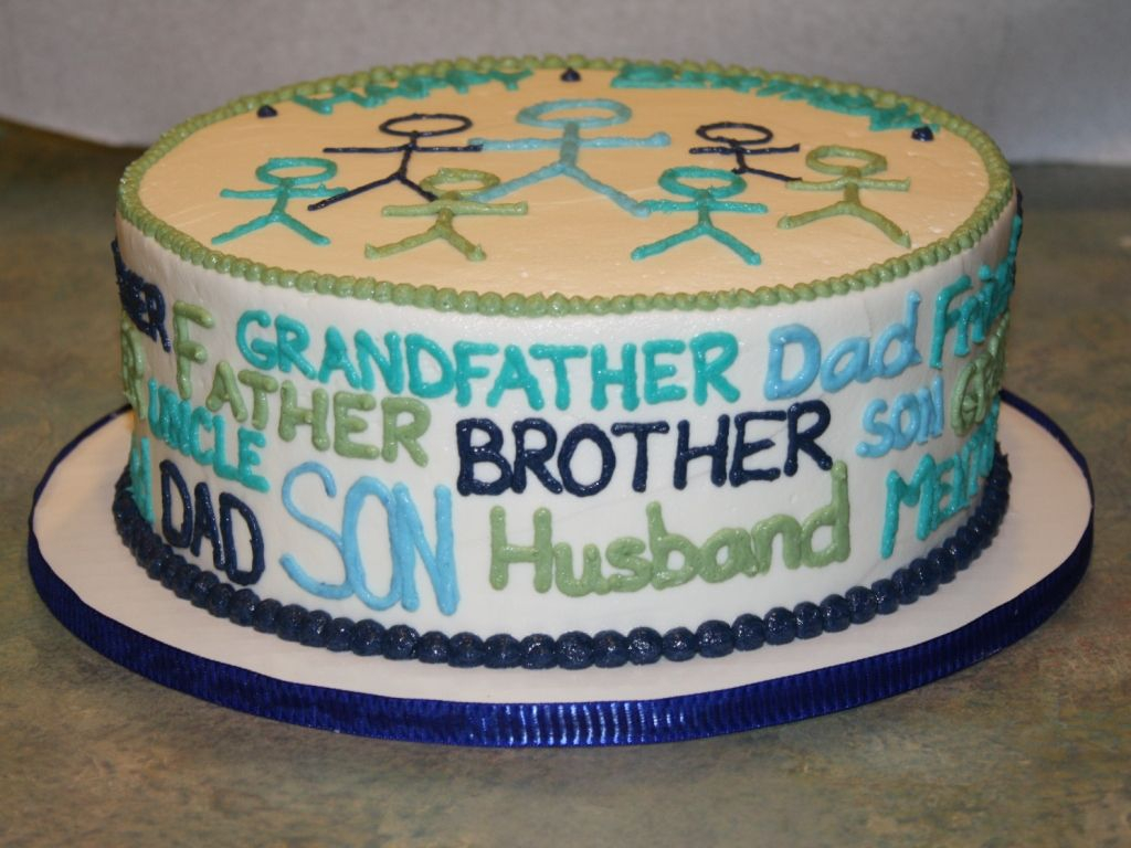 Husband Birthday Cake Husband Birthday Cake Great Decorating Idea For Daddys