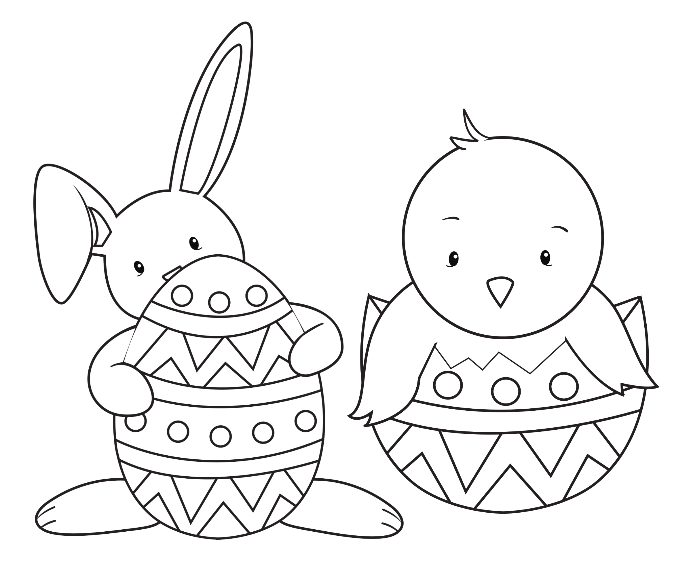 Images Of Coloring Pages Easter Coloring Pages For Kids Crazy Little Projects