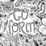 Images Of Coloring Pages Free Encouragement Coloring Page Printable Dawn Nicole Designs