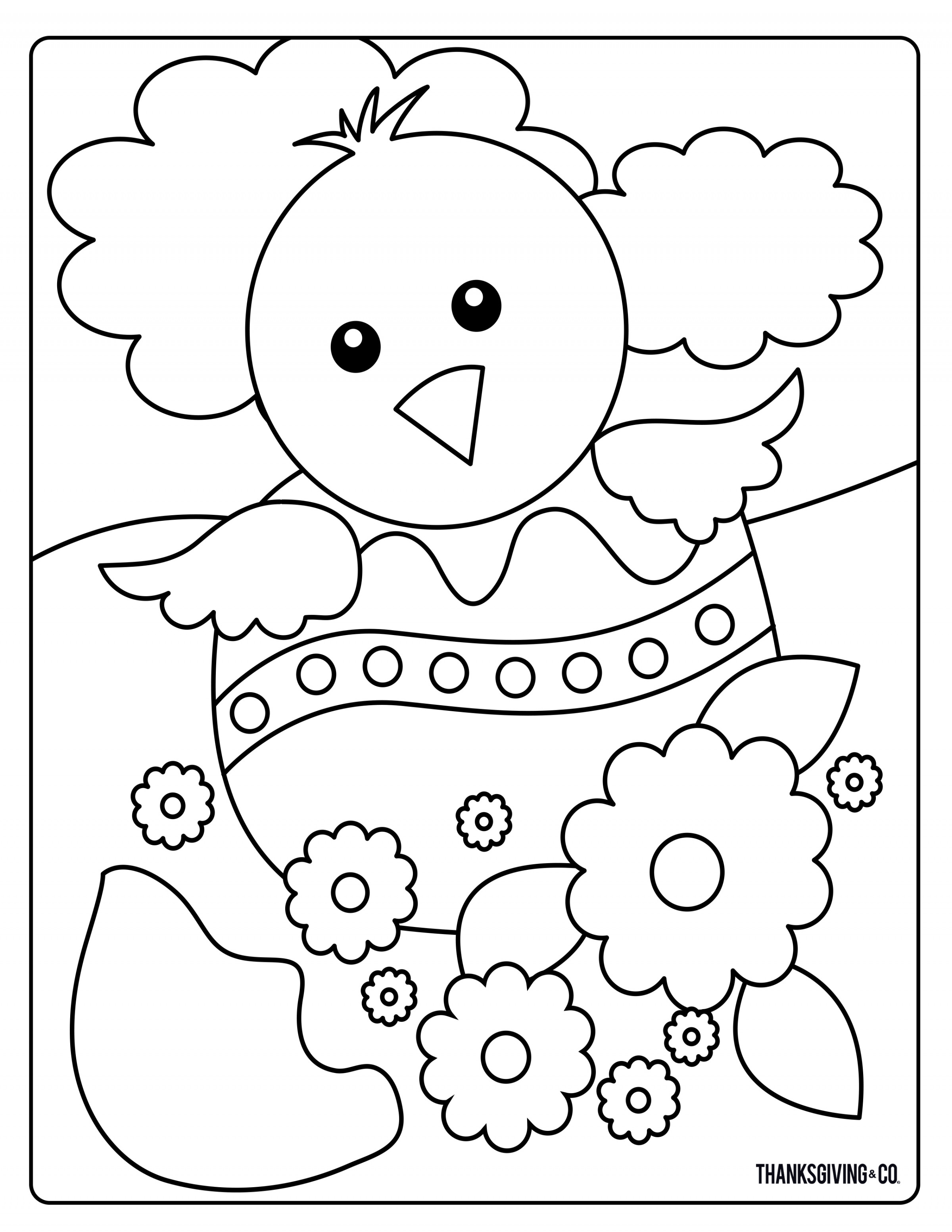 Images Of Coloring Pages Sweet And Sunny Spring Easter Coloring Pages Thanksgiving