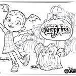 Images Of Coloring Pages Vampirina Coloring Pages For Your Little One Disney Family