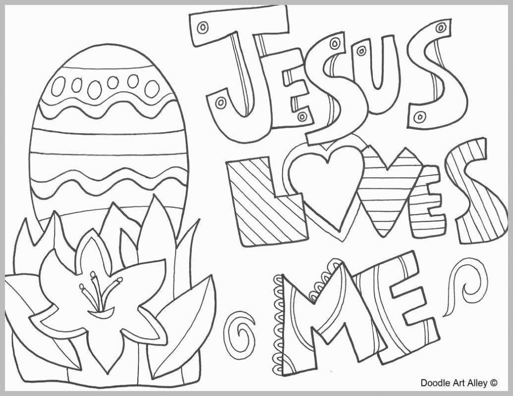 Jesus Loves Me Coloring Page Coloring Pages Jesus Loves Me Coloring Page Good Religious Easter