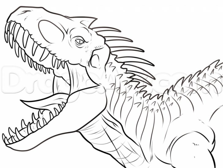 Jurassic World Coloring Pages Coloring Pages Jurassic Park Coloring Pages T Rexe Picture