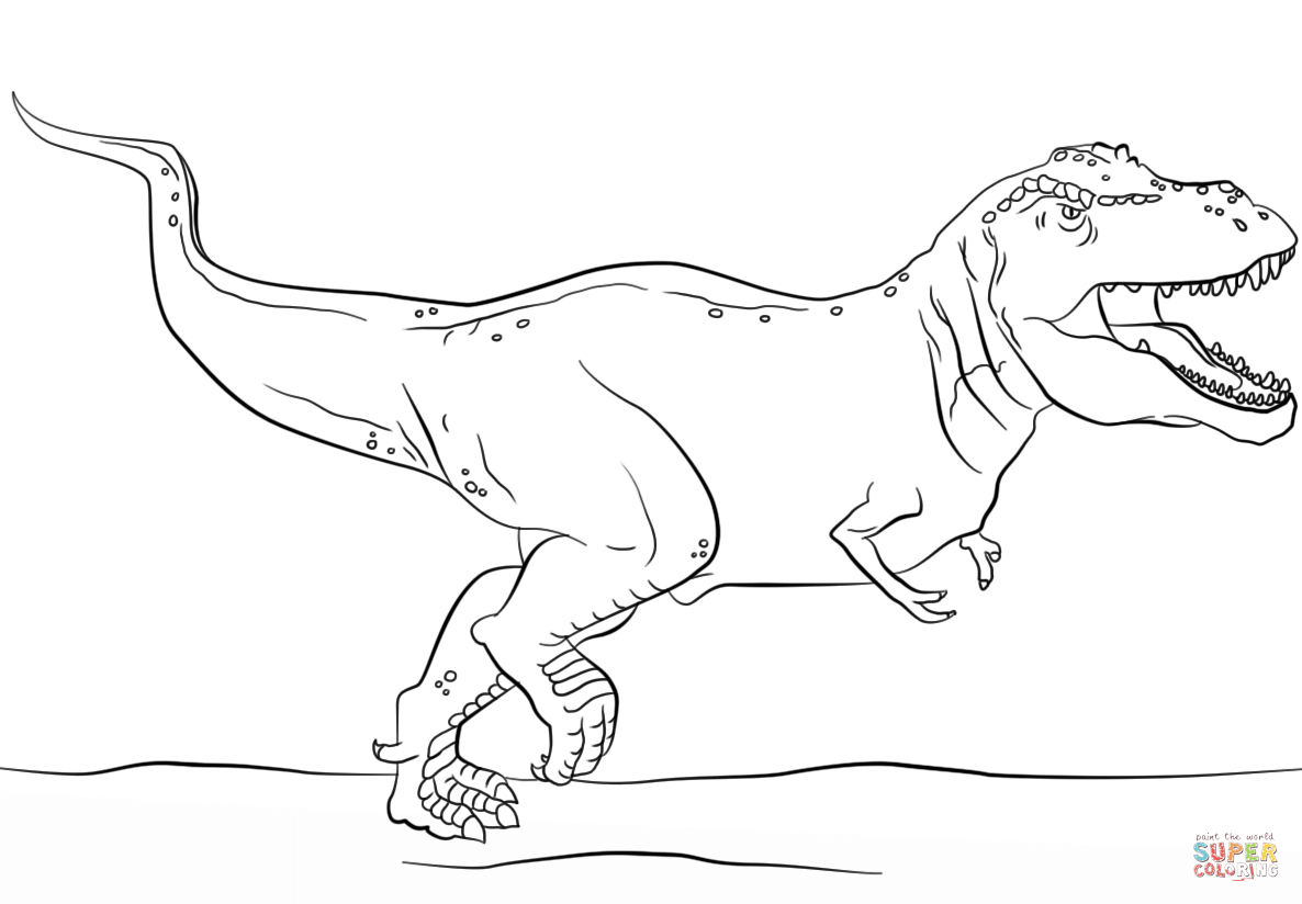 Jurassic World Coloring Pages Jurassic Park T Rex Coloring Page Free Printable Coloring Pages