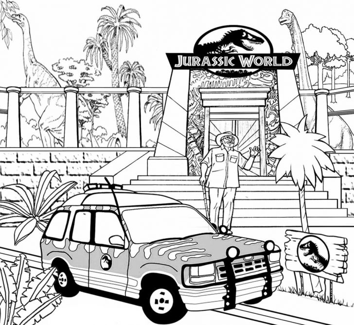 Jurassic World Coloring Pages Jurassic World Coloring Pages Best Coloring Pages For Kids