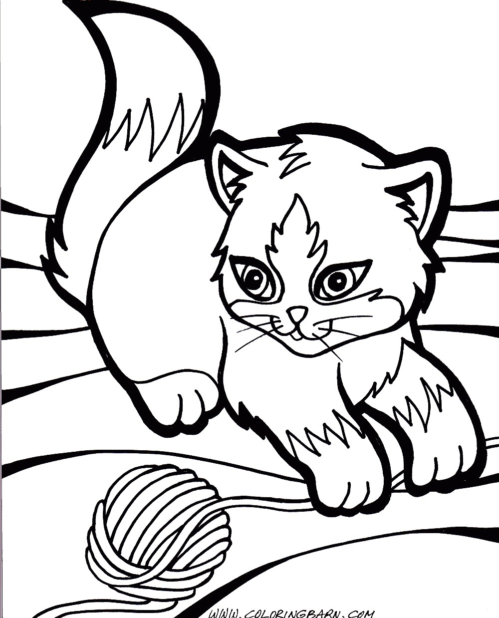 Kittens Coloring Pages Cooloring Book Marvelous Puppy And Kitten Coloring Pages Cat Pages