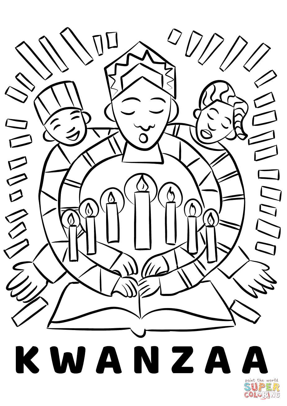 27+ Elegant Photo of Kwanzaa Coloring Pages