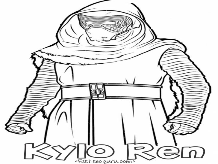 Kylo Ren Coloring Page Kylo Ren Helmet Drawing At Getdrawings Free For Personal Use