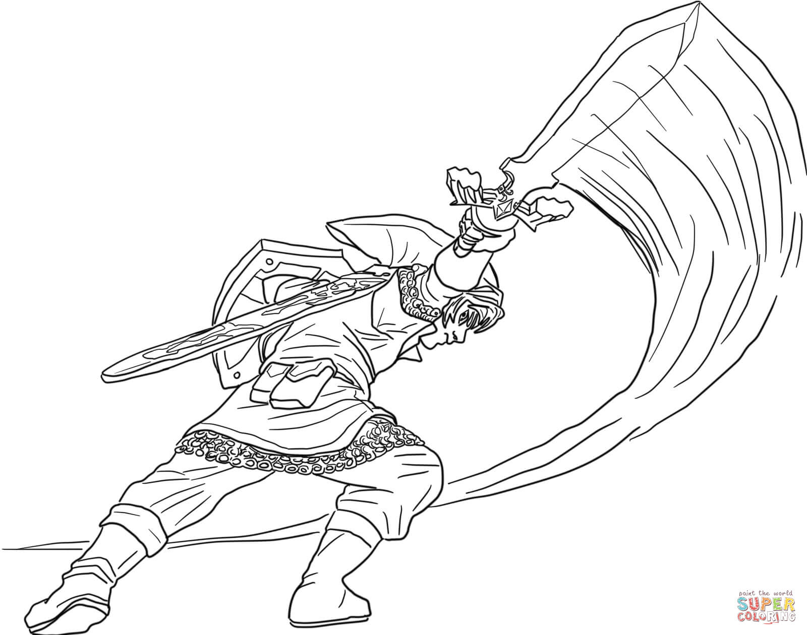 27+ Wonderful Photo of Legend Of Zelda Coloring Pages