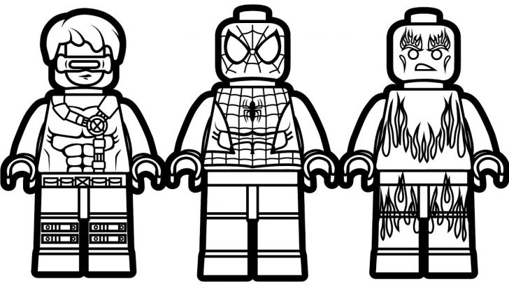 Lego Spiderman Coloring Pages Free Printable Lego Coloring Pages For Kids Cool2bkids Within