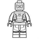 Lego Spiderman Coloring Pages How To Draw Lego Spider Man Homecoming Marvel Super Heroes