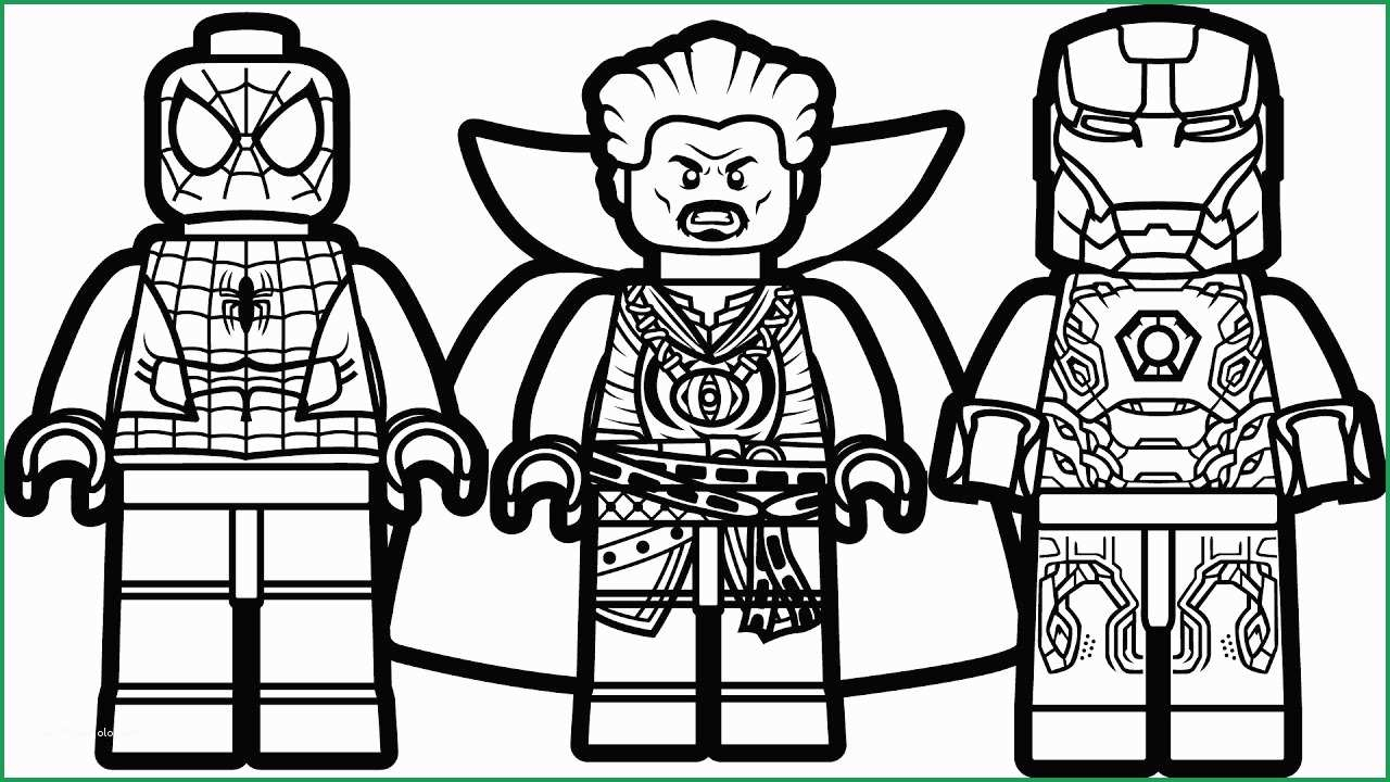 Lego Spiderman Coloring Pages Iron Spider Infinity War Coloring Pages Prettier Lego Spiderman