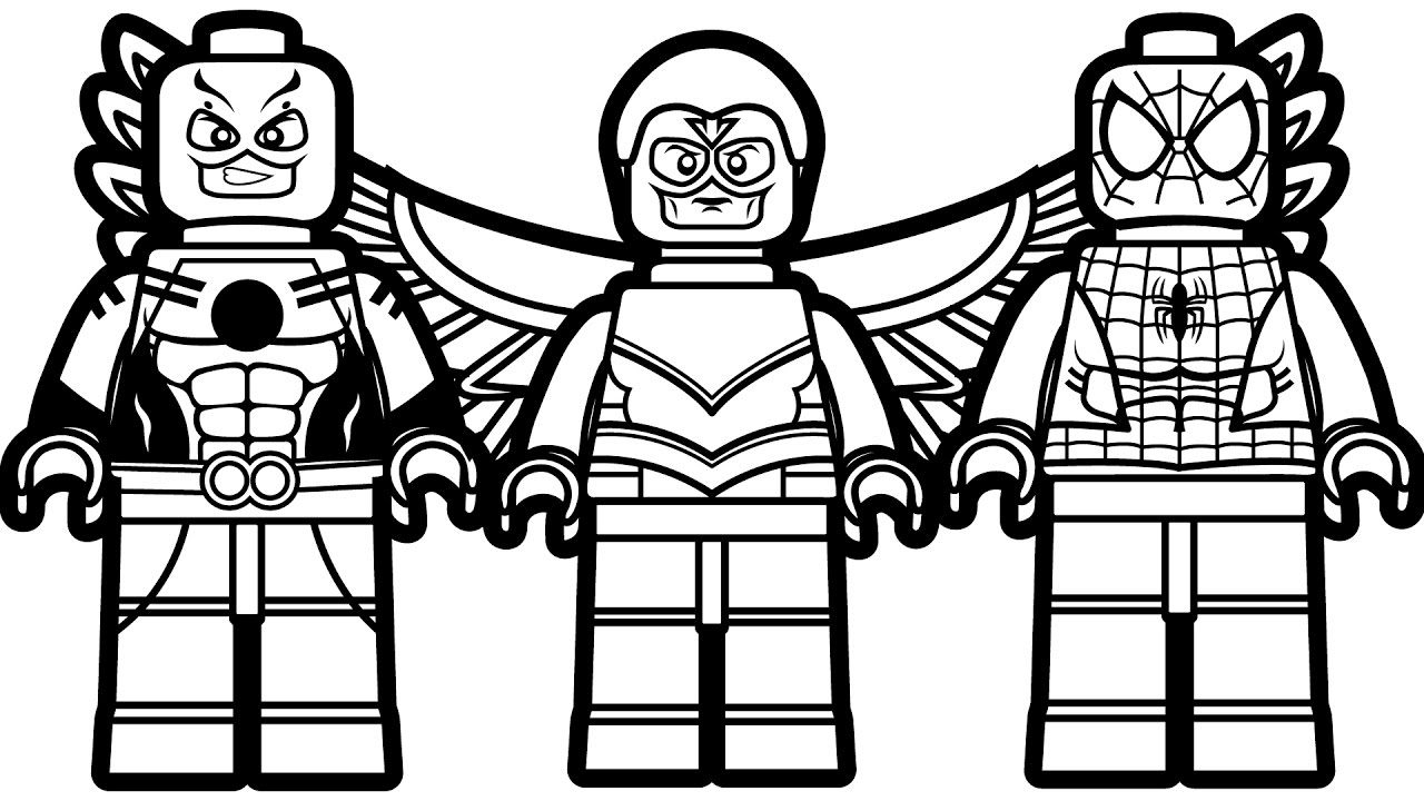 Lego Spiderman Coloring Pages Lego Spiderman Coloring Pages Coloringsuite Com Phenomenal Batman