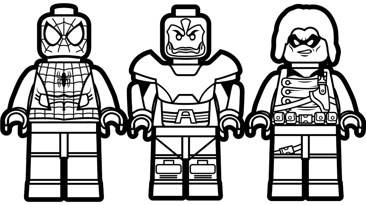 Lego Spiderman Coloring Pages Legon Coloring Pages Games Ultimate Car Black Phenomenal Lego