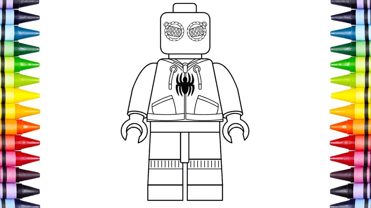 Lego Spiderman Coloring Pages Spiderman Drawing Pages At Getdrawings Free For Personal Use