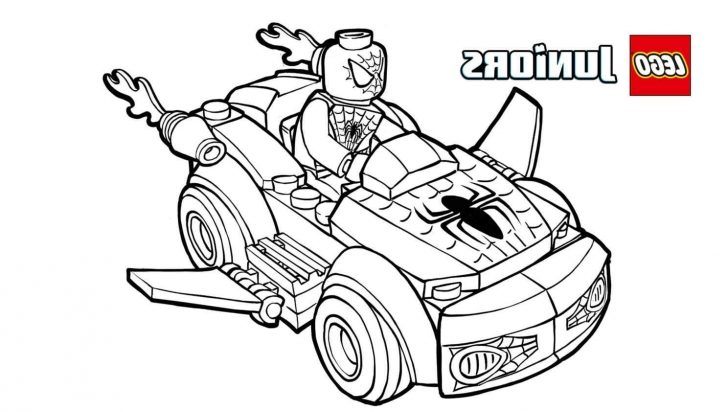 Lego Spiderman Coloring Pages Top Lego Spiderman Coloring Pages Image On Pinterest At Coloring Page