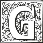 Letter G Coloring Pages Letter G Coloring Pages Free Coloring Pages