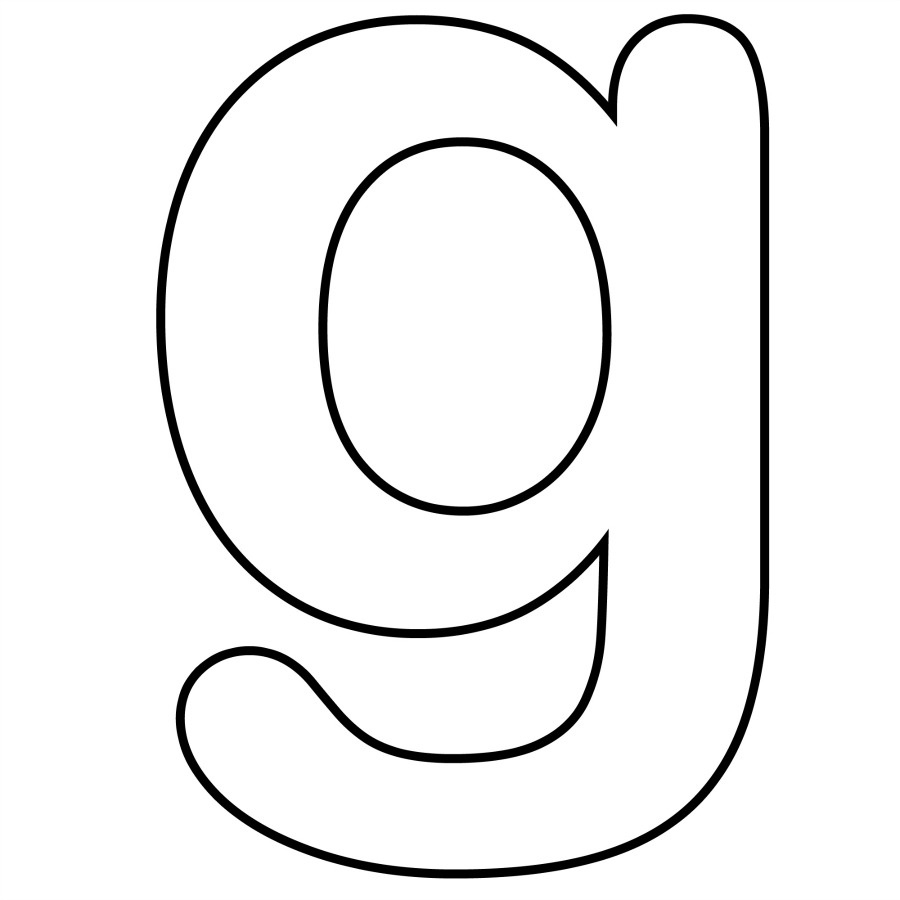 Letter G Coloring Pages Letter G Coloring Pages Wuming