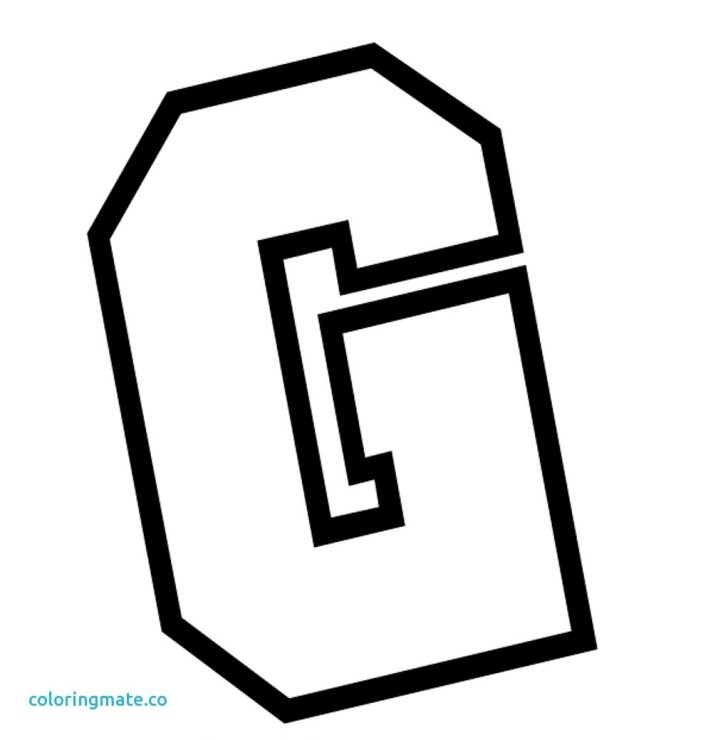 Letter G Coloring Pages New 30 G Coloring Pages Free Coloring Book