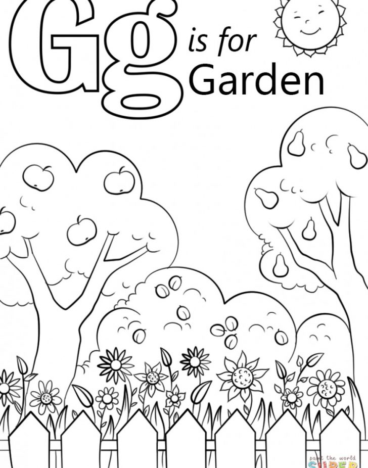 Letter G Coloring Pages Preschool Letter G Coloring Pages 8681105 Gerrydraaisma