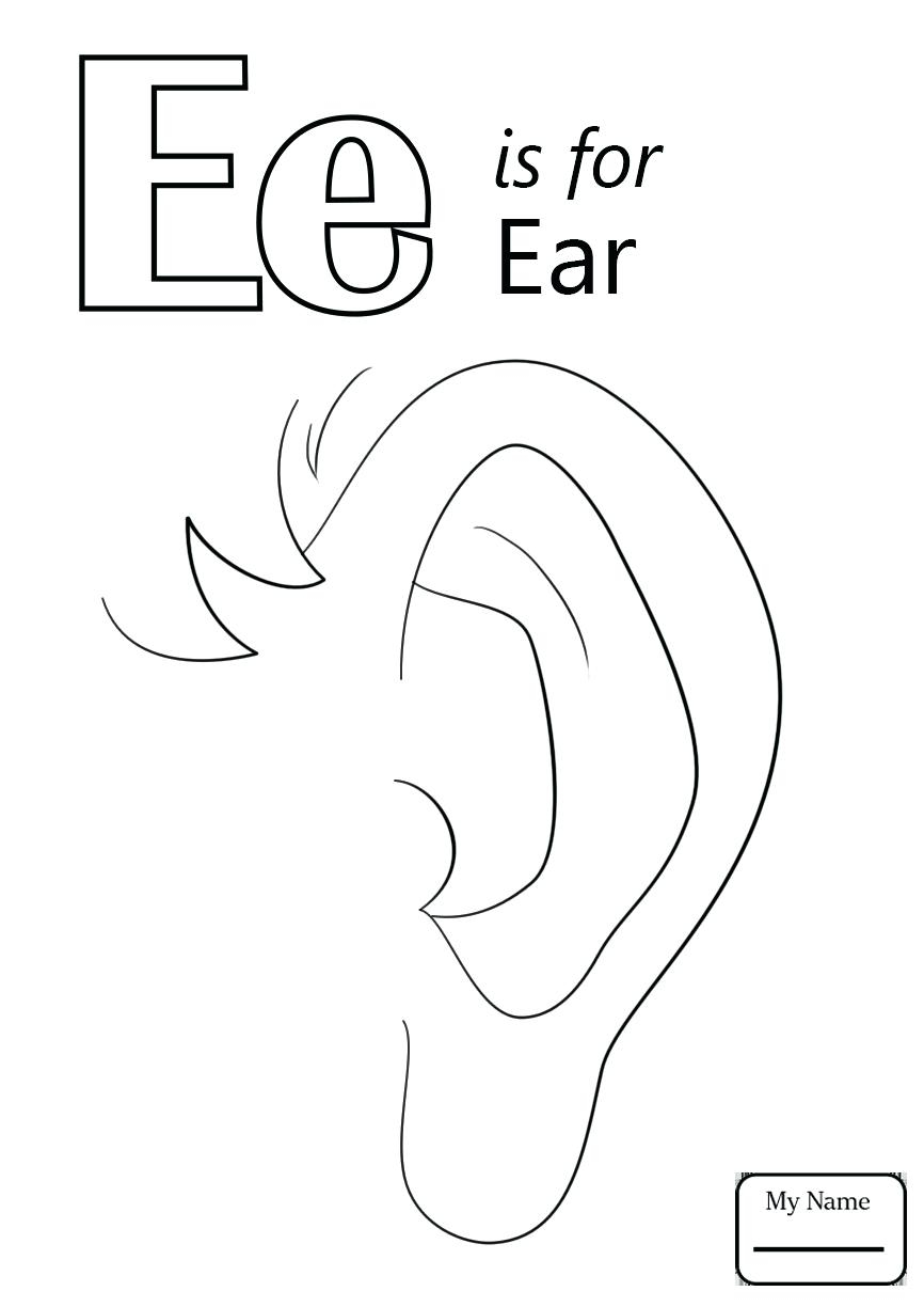 Letter G Coloring Pages Printable Letter G Confrariadacarneclub