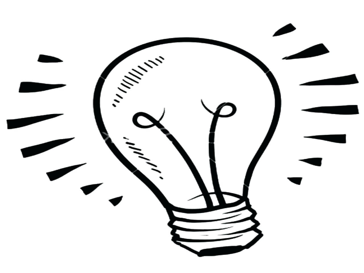 Light Bulb Coloring Page Bulb Coloring Pages At Getdrawings Free For Personal Use Bulb