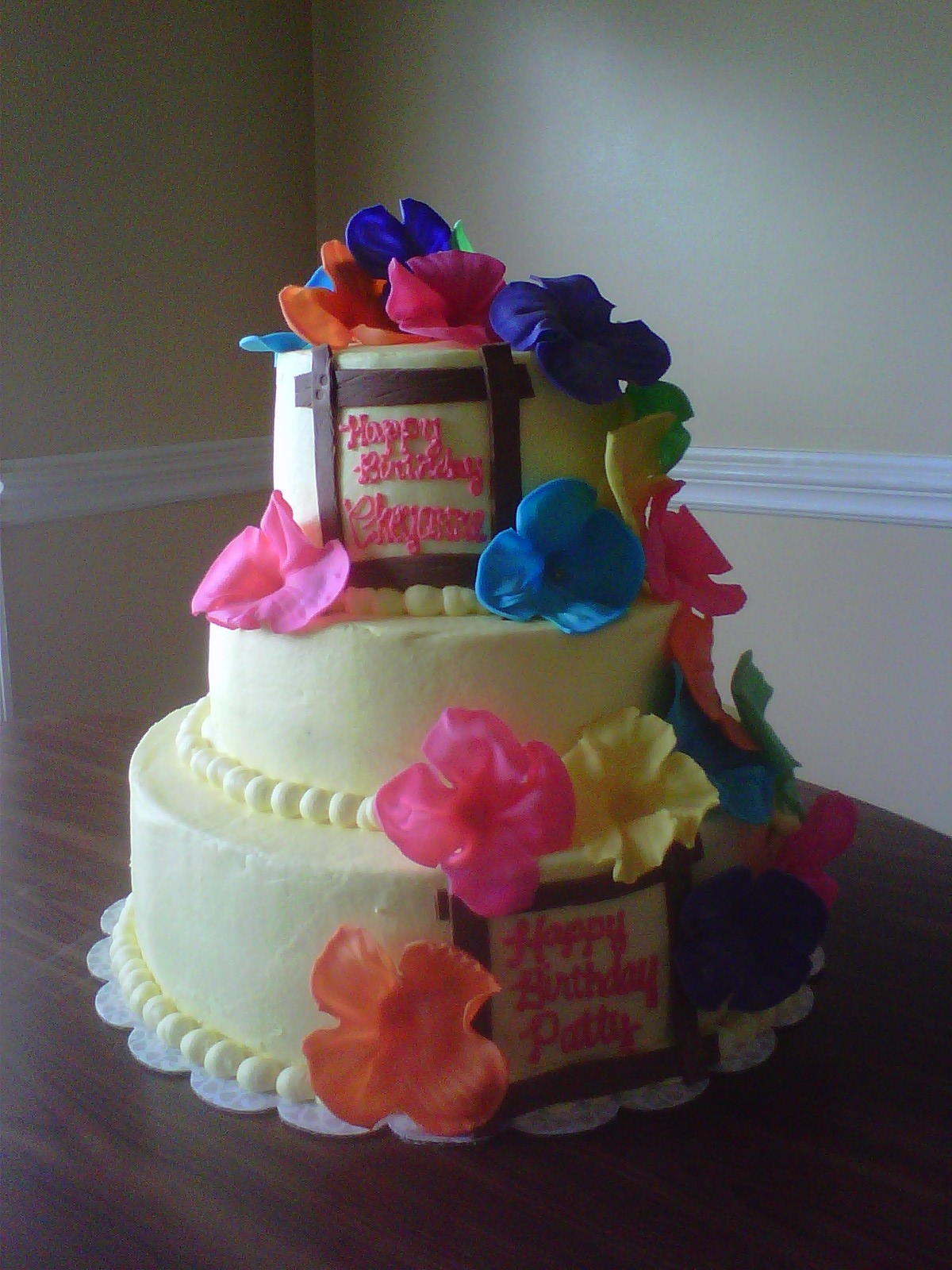 Luau Birthday Cakes 12 Tropical Birthday Cakes For Girls Photo Luau Birthday Cake