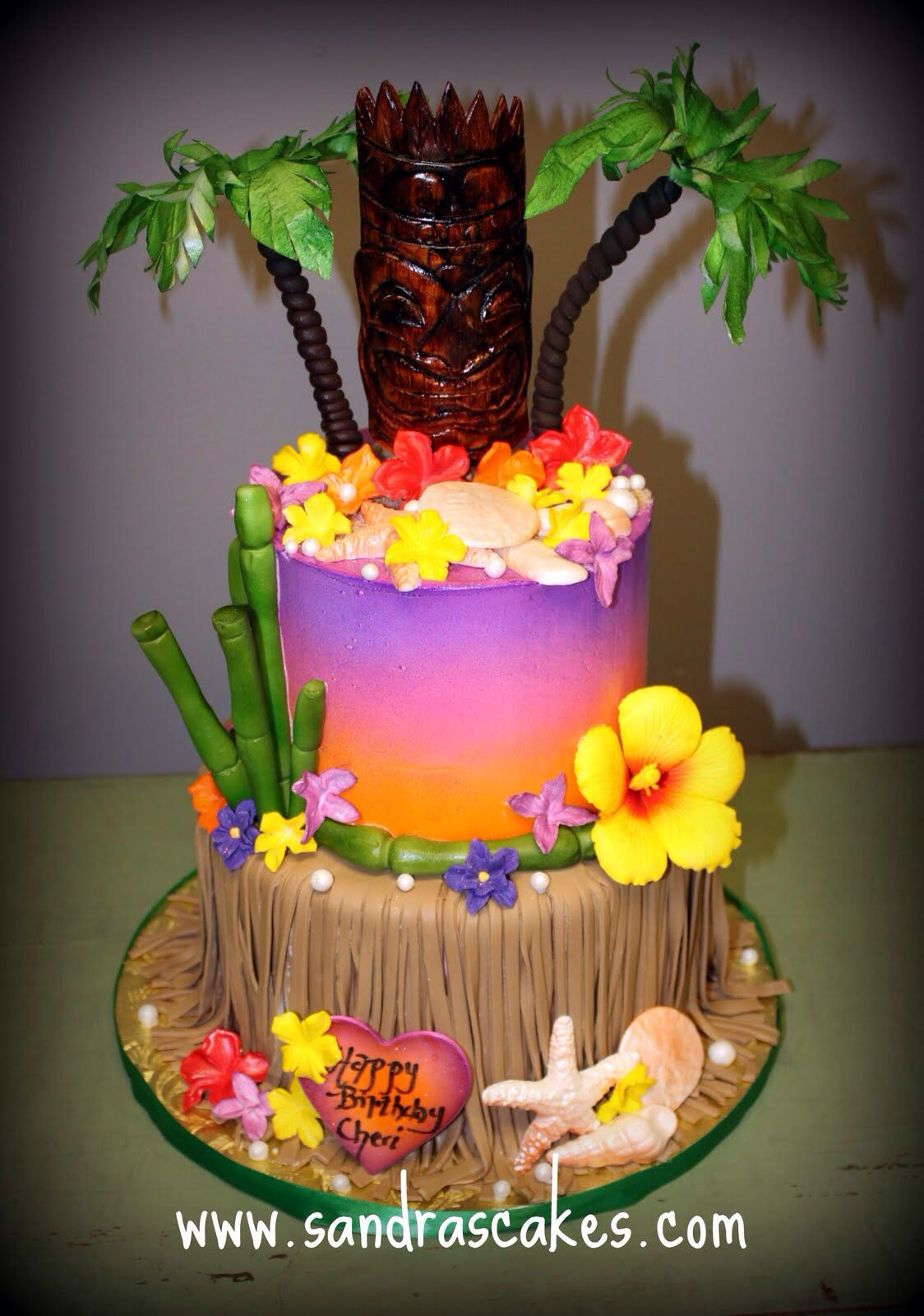 Luau Birthday Cakes Hawaiian Birthday Cake Cakes Luau Birthday Luau Birthday Cakes