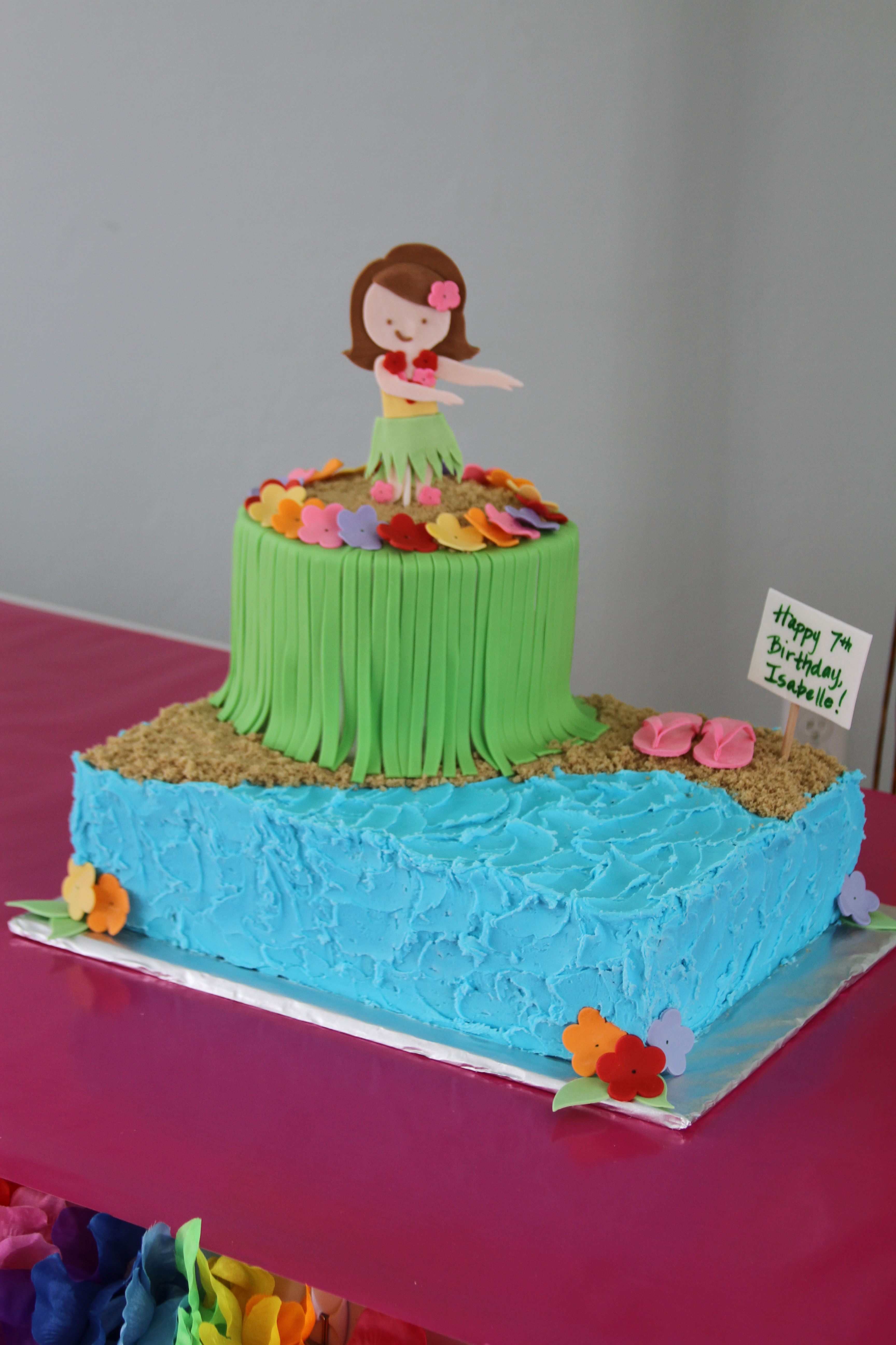 Luau Birthday Cakes Luau Birthday Cake I Like This One Better Too Cute Luau
