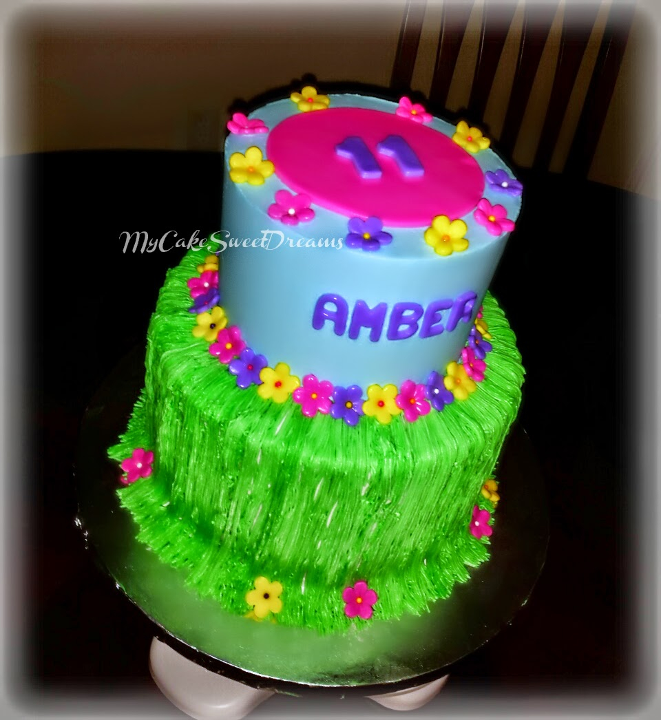 Luau Birthday Cakes Mycakesweetdreams Luau Birthday Cake