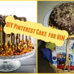 Mens Birthday Cake Diy Easy Pinterest Birthday Cake For Him Birthday Gift Basket