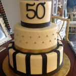 Mens Birthday Cake Gold And Black 50th Birthday Cake Mens Birthday Cake 30 Birthday