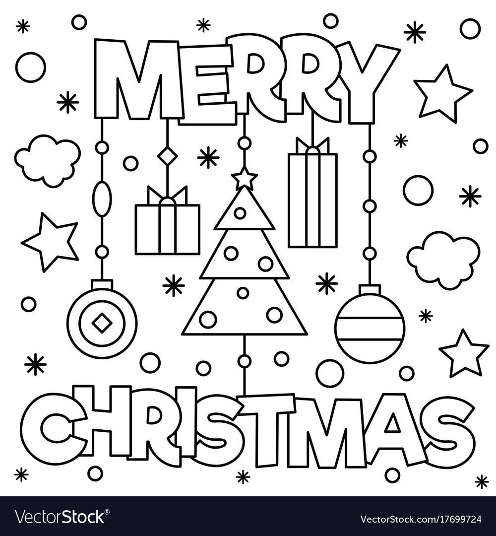 21+ Creative Photo of Merry Christmas Coloring Pages