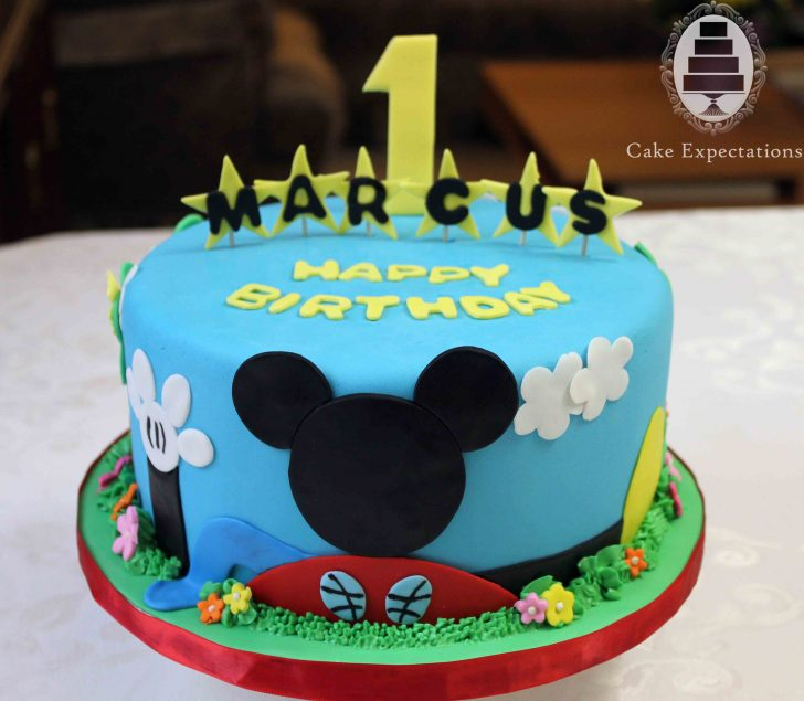 Mickey Mouse 1St Birthday Cake 10 Mickey Mouse Clubhouse Birthday Party Cakes Photo Mickey Mouse