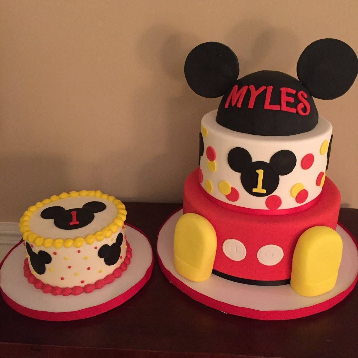 32+ Great Picture of Mickey Mouse 1St Birthday Cake