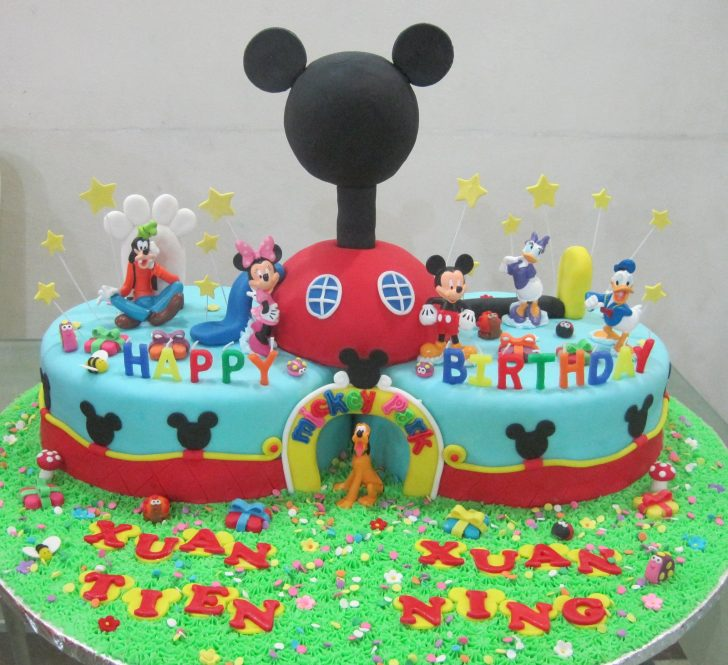 Mickey Mouse Clubhouse Birthday Cake Cupcake Divinity Mickey Mouse Clubhouse Cake